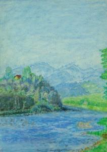 035-pastel_papier-gorska_rzeka-35x25cm